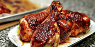 BBQ Chicken, BBQ Chicken Bake, Baked BBQ Chicken, Baked BBQ Chicken Breast